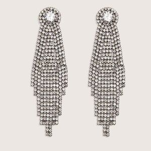NWT Additionelle Bling Statement Earrings